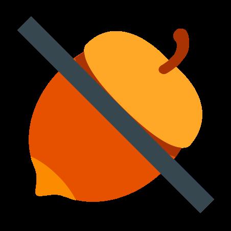 No Nuts icon in Color