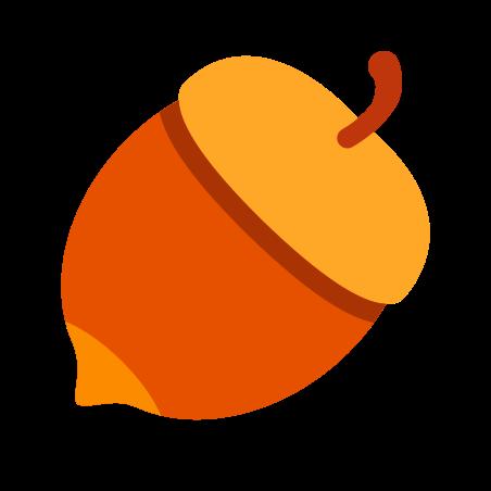 Nut icon in Color