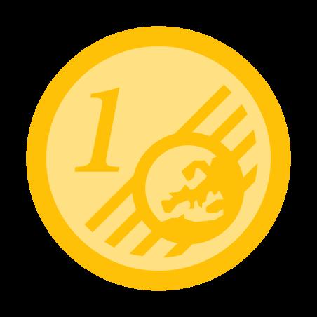 One Euro Cent icon