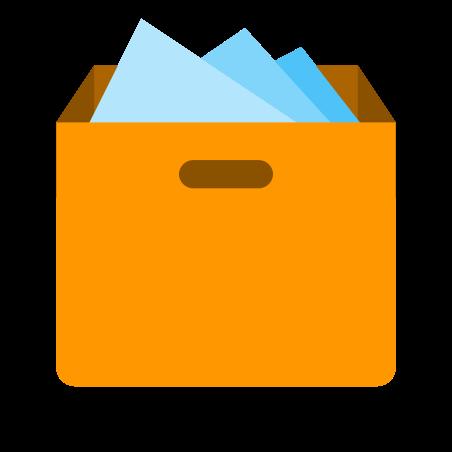 상자 가득 icon