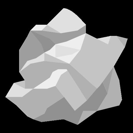 종이 쓰레기 icon in 색상