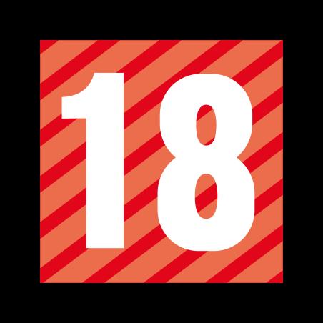 Pegi 18 icon