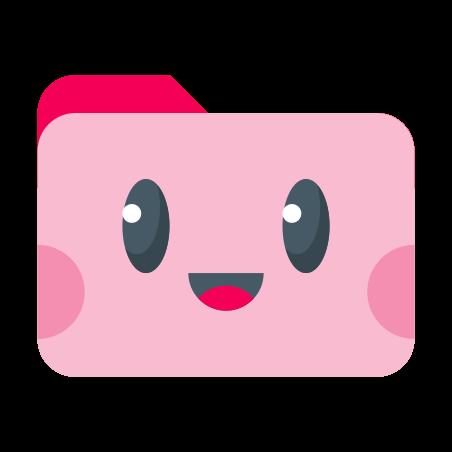 Cartella Rosa Carino icon
