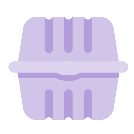 Plastic Food Container icon
