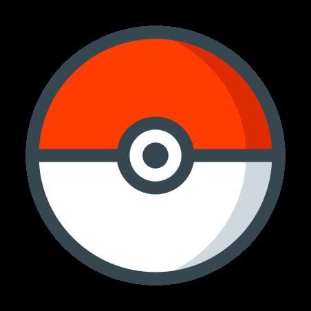 Pokeball icon in Color