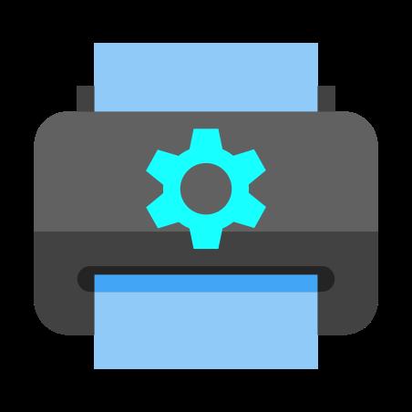Printer Maintenance icon in Color