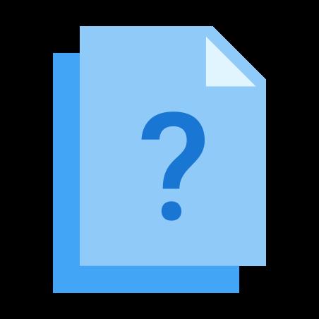 질문 icon