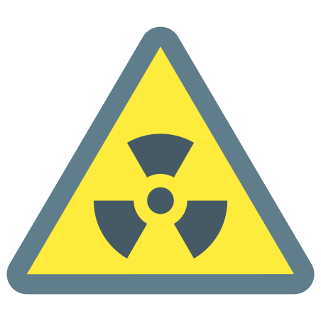 Radioactive Material icon in Color