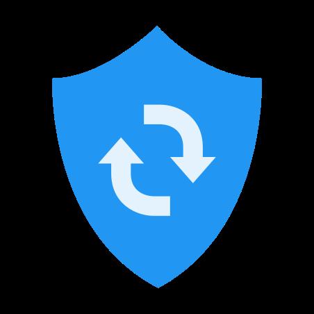새로 고침 방패 icon