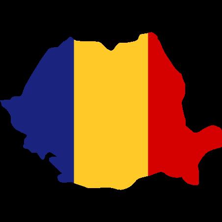 Mapa de Rumania icon