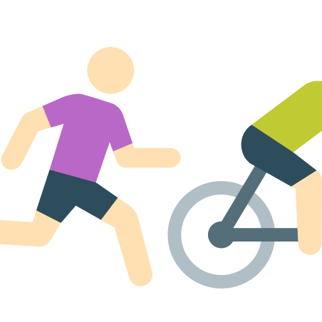 Runnig After Bike Skin Type 1 icon in Color