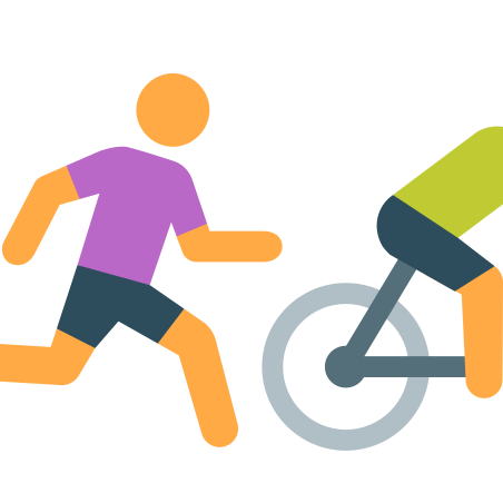Runnig After Bike Skin Type 2 icon in Color
