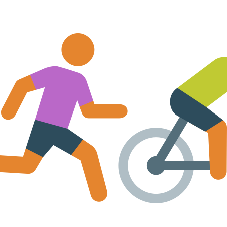 Runnig After Bike Skin Type 3 icon in Color