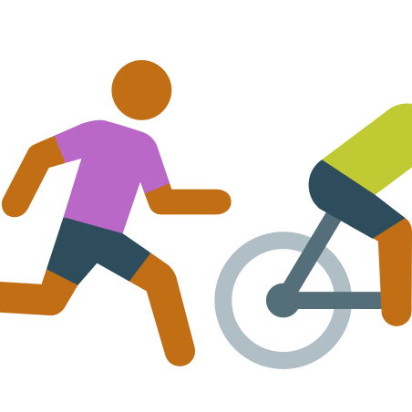 Runnig After Bike Skin Type 4 icon in Color