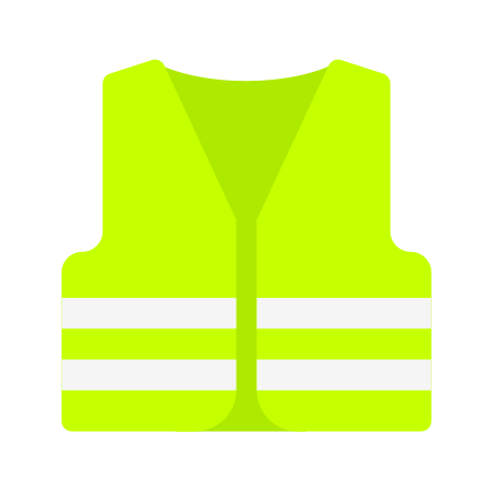 Safety Vest icon in Color