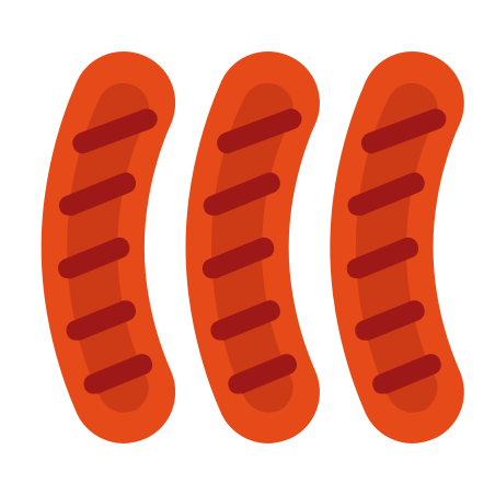 Sausages icon in Color