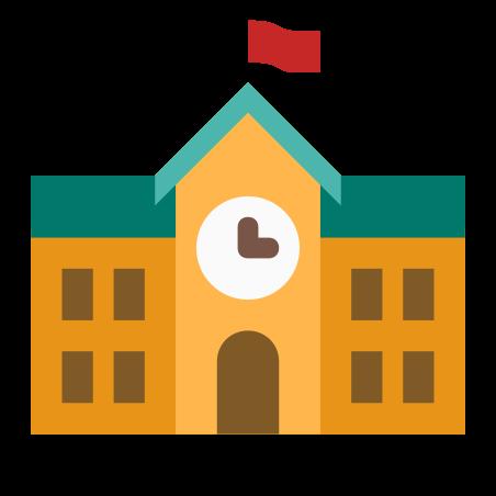 학교 건물 icon