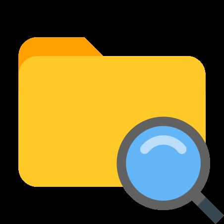 Search Folder icon in Color