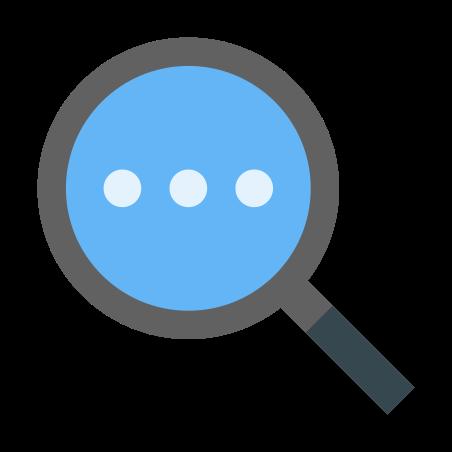 Search More icon in Color