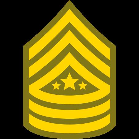육군 SMA의 주임 상사 icon