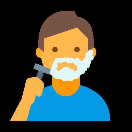 Shaving Man icon
