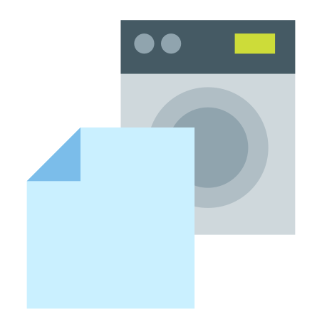Sheets in Laundry icon