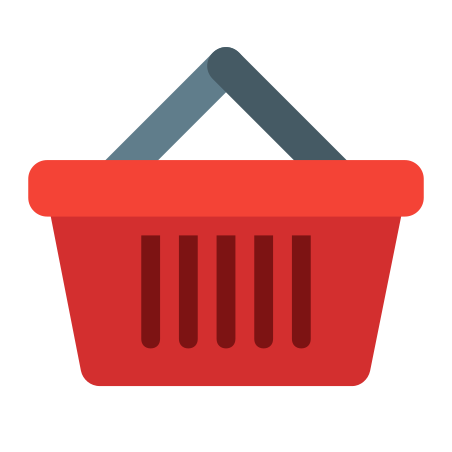 Shopping Basket icon in Color