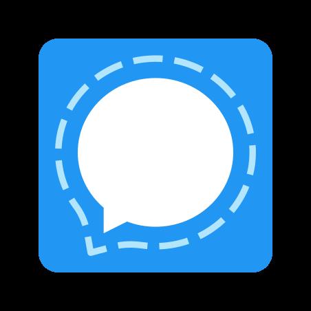 Signal App icon in Color