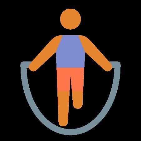 Skipping Rope Skin Type 3 icon