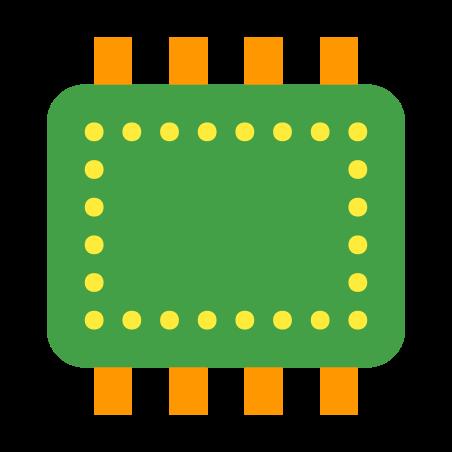 스마트 폰 RAM icon in 색상