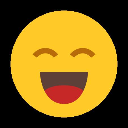 웃는 icon