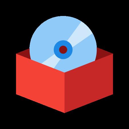 Caixa de software icon