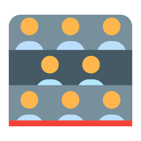 Spectators On Seats icon