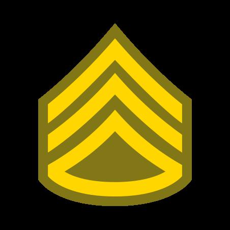 Staff Sergeant SSG icon