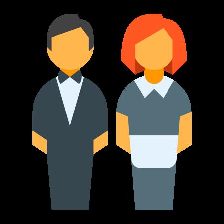 Staff icon in Color