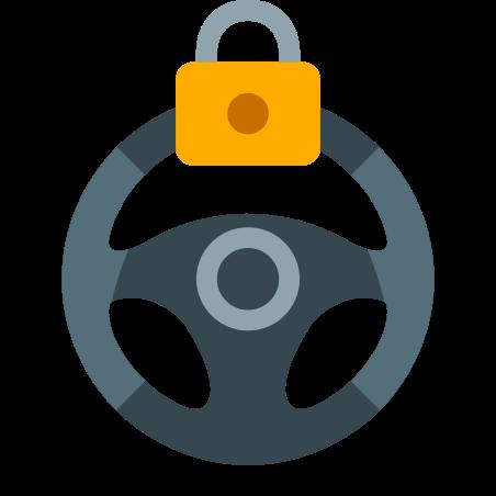 Steering Lock Warning icon