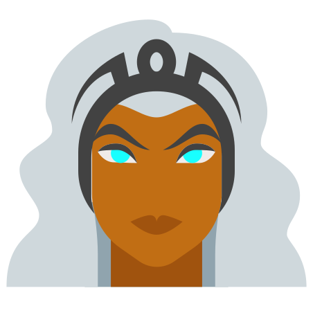 Storm Marvel icon in Color