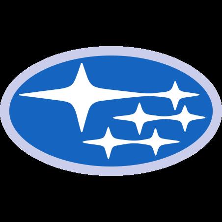Subaru icon in Color