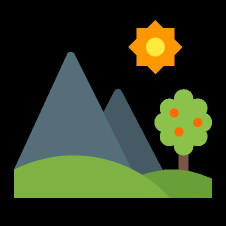 Summer Landscape icon in Color