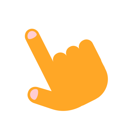 Tap Gesture icon in Color