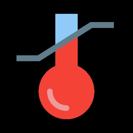 민감한 온도 icon