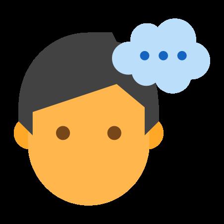 Thinking Male icon