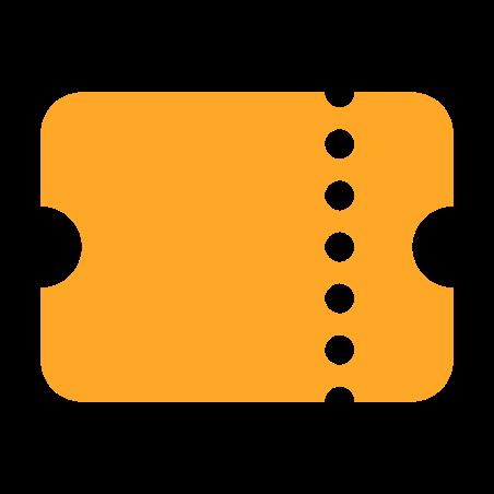 Ticket icon in Color
