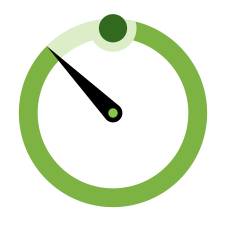 Timer icon in Color
