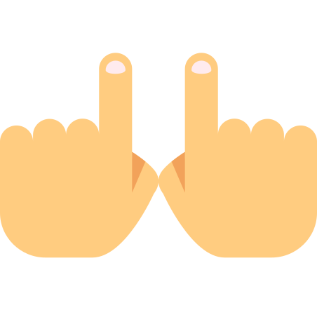 Two Hands icon in Color