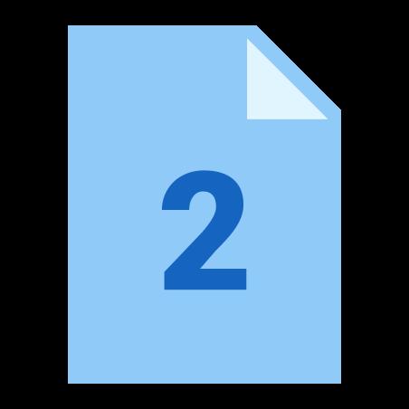 두 페이지 icon