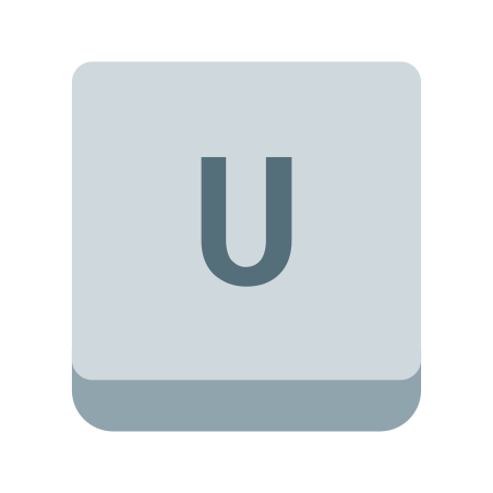 U Key icon