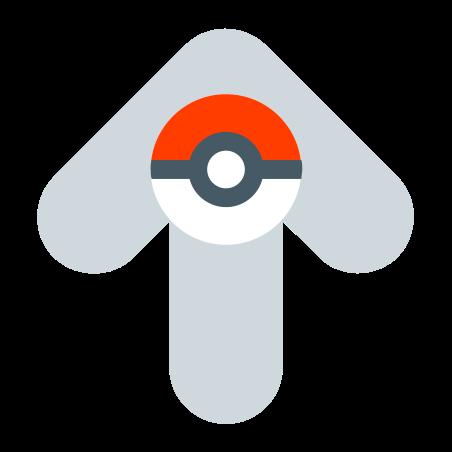 위쪽 화살표 icon in 색상