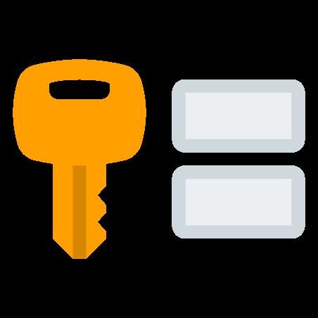 Credenciales de usuario icon