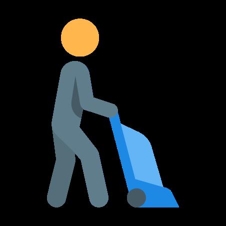 Vacuuming icon
